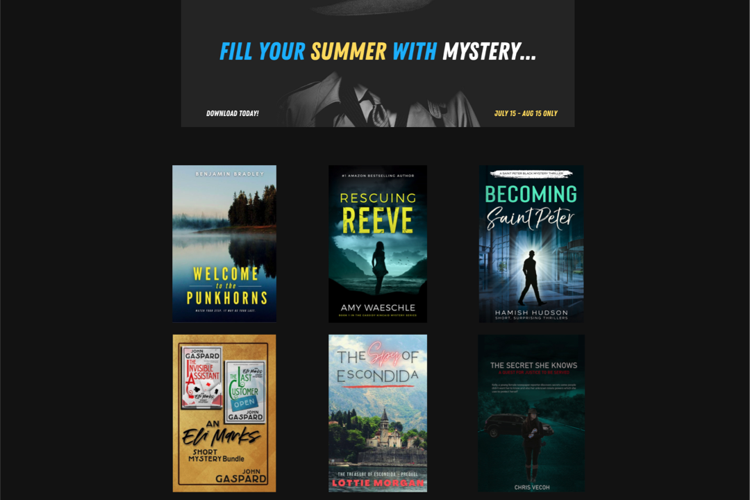 A Mystery-Filled Summer